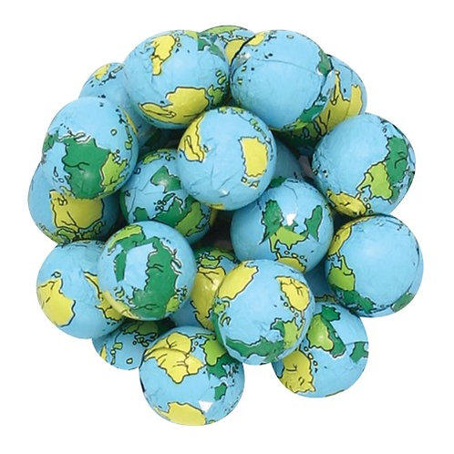 Foil Wrapped Globes