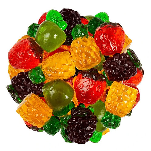 3-D Gummy Fruits