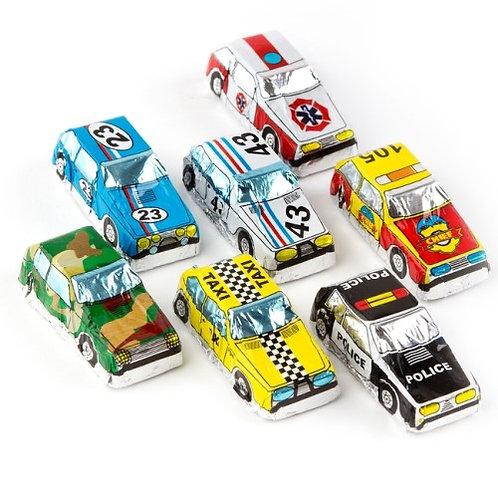 Mini Chocolate Cars
