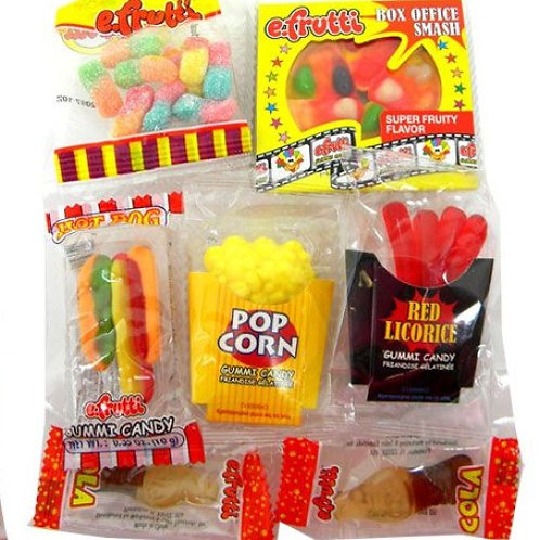 Gummy Movie Theater Bags