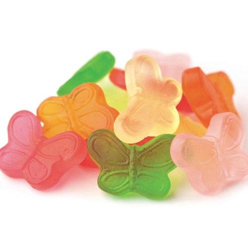 Sugar-Free Gummy Buttlerflies