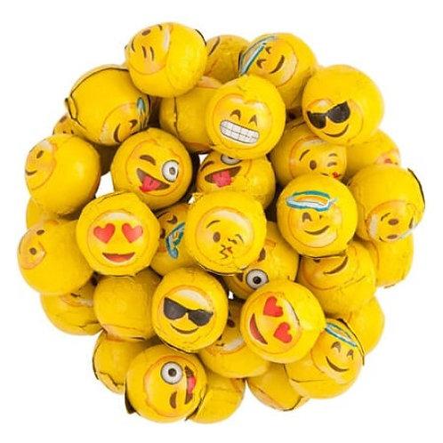 Foil Wrapped Emoji Balls