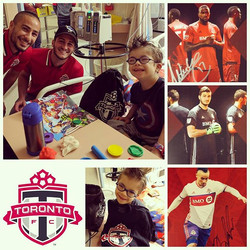 Thanks for stopping in guys! #tfc #soccerhairdontcare #gooooooaaaal #fcancer