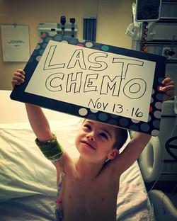 last week of oral chemo