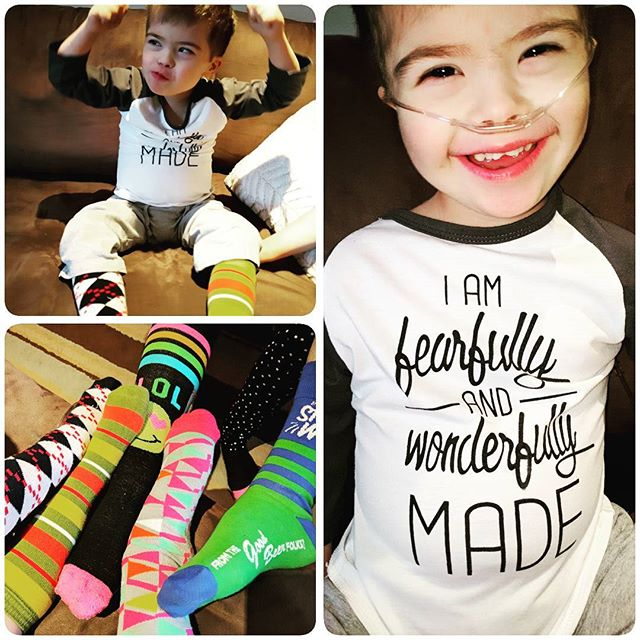 Happy World Down Syndrome Day!! #nothingdownaboutit #proudmom #loveofmylife #rockyoursocks
