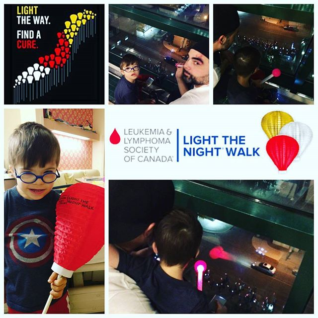 Light the Night Walk.... Beautiful display of love, support, hope, strength...