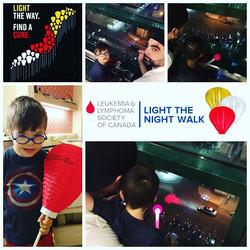 Light the Night Walk.... Beautiful display of love, support, hope, strength...