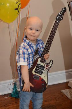 Rock on! Happy 5th Birthday Antonio!