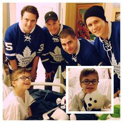 Happy 100th Anniversary Toronto Maple Leafs _#antoniostoydrive #onesmileatatime #fcancer