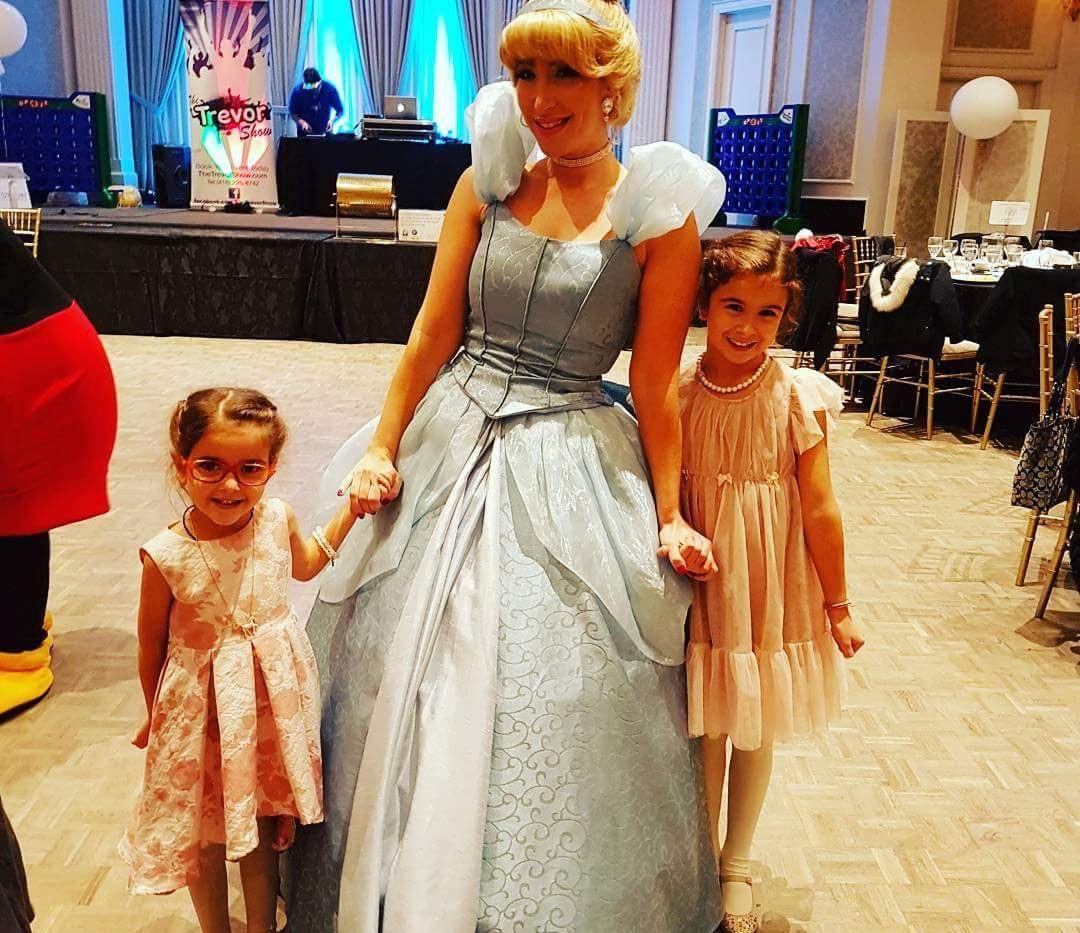 Cinderella made an appearance