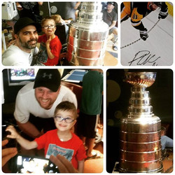 When the Stanley Cup comes to you....
