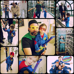 A great day at Sick Kids, lots of cool costumes, activities and most importantly countless smiles! T