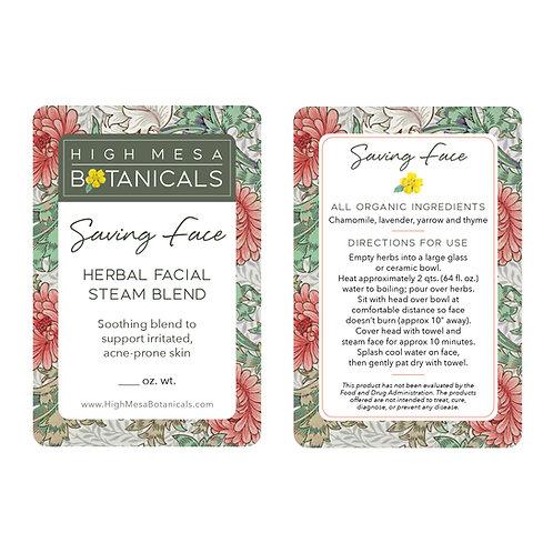 Organic Herbal Facial Steam Blend