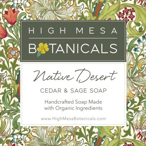 Native Desert - Cedar and Sage Soap