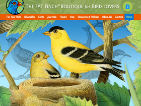 Why a new website for The Fat Finch?