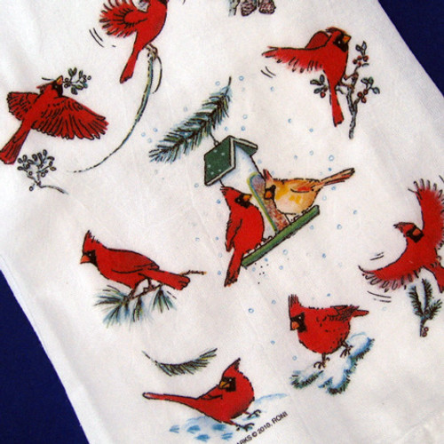Cardinal Mug Rug By Krasoskiskrafts On Etsy