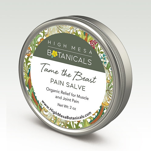 Tame the Beast - Pain Salve for Muscle and Joint Pain