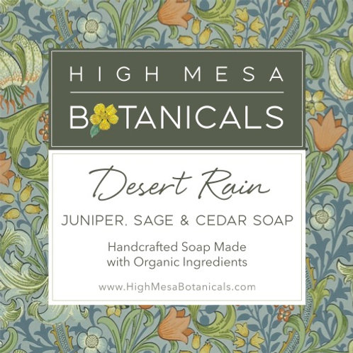 Desert Rain - Juniper, Sage and Cedar Soap
