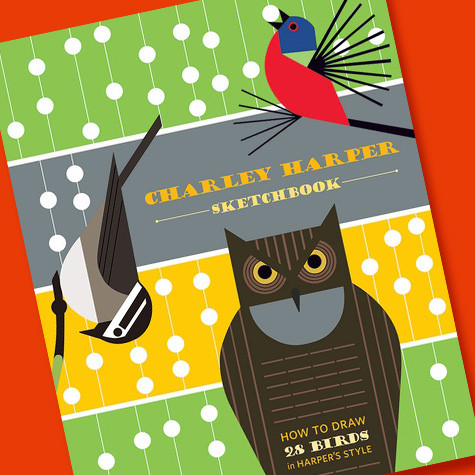 How to Draw Like Charley Harper Sketchbook | the-fat-finch