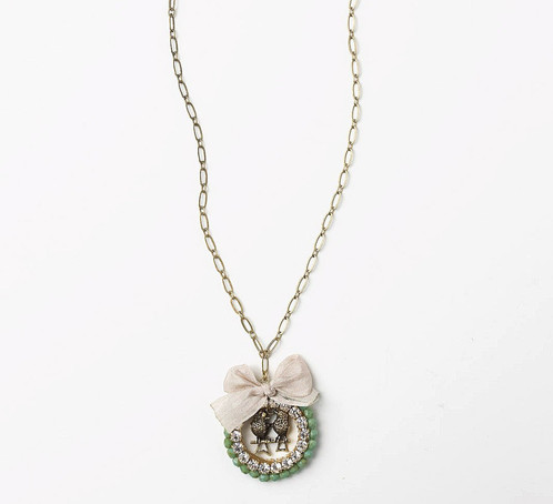 Lovebirds fine jewelry necklace by elements aloadofball Gallery