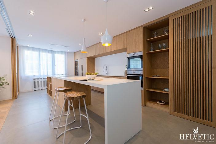 Reforma de cocina minimalista