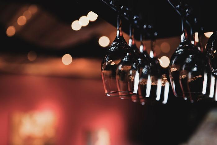 Verres à vin Suspendus de rack