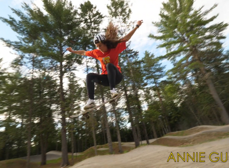 Annie goes off-road