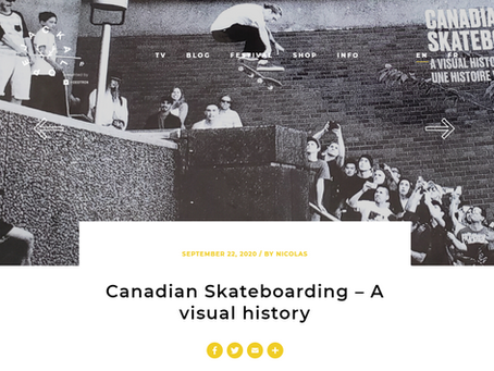 Read the JACKALOPE article about Canada Skateboard's Coffee Table book
