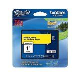 """Brother TZe651 24mm (0.94"""") Black on Yellow tape for P-Touch 8m (26.2 ft)"""