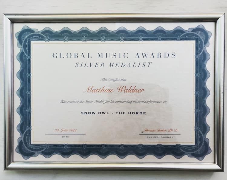 Global Music Award for the Horde