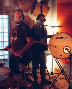 recording percussion