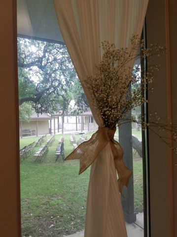 Window to Courtyard
