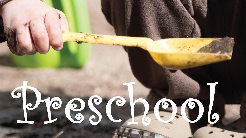 Preschool - 2 Day Mornings Only