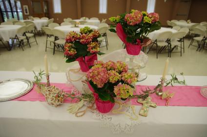 Fellowship Hall Serving Table