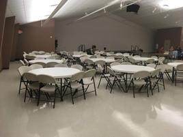 Fellowship Hall Seating