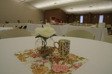 Fellowship Hall Round Table