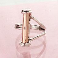 Rose Power Crystal Ring