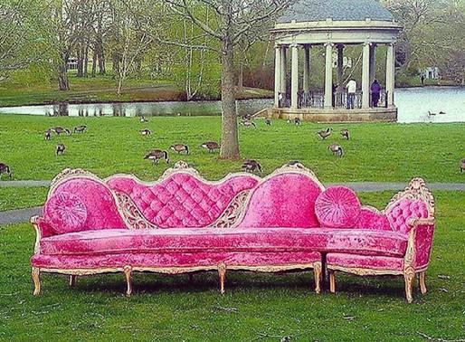 Discarded Sofas, sad!