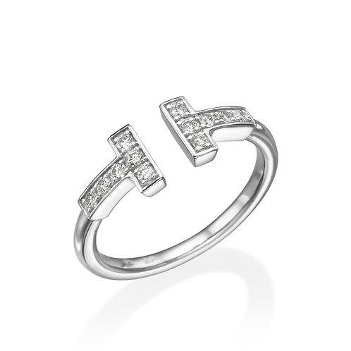 T diamonds ring