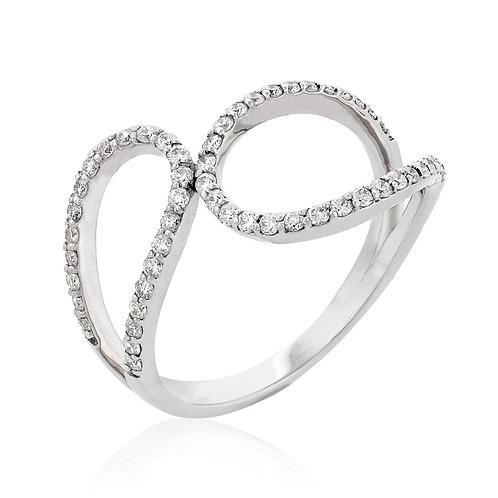 Diamonds design ring