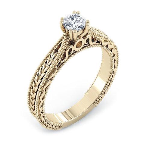 טבעת אירוסין ויטאג