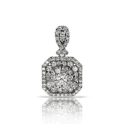תליון משובץ יהלומים