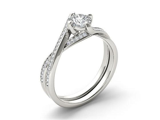 טבעת אירוסיןמעוצבת