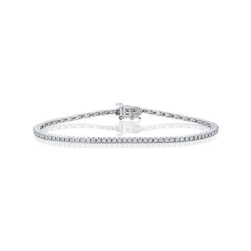 Tennis diamonds bracelet