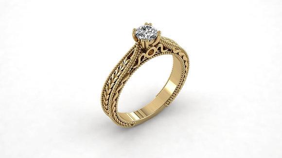 טבעת אירוסין חריטות