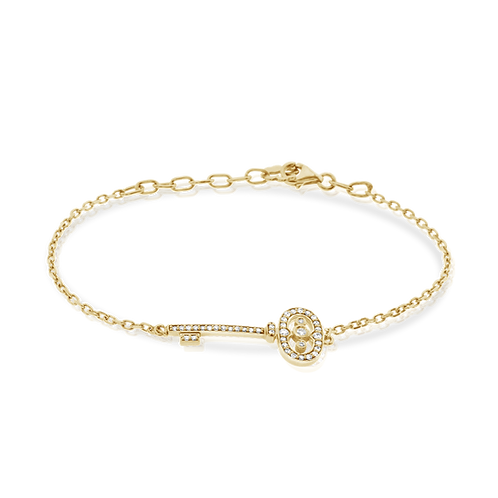 Key diamonds bracelet