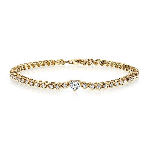 Diamonds tennis bracelet