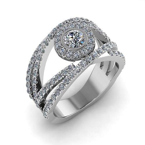 טבעת מעוצבת