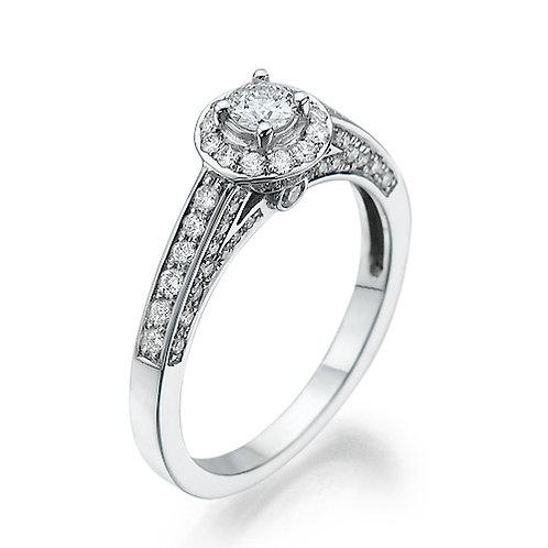 טבעת אירוסין הלו