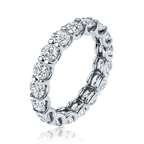 U-shape eternity ring